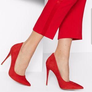 Aldo Red Cassedy Stiletto High Heels